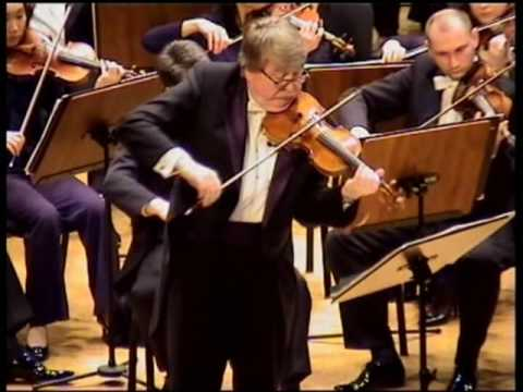 PIOTR BORKOWSKI conducts Z. STOJOWSKI VIOLIN CONCERTO 1st mov. - 2nd part