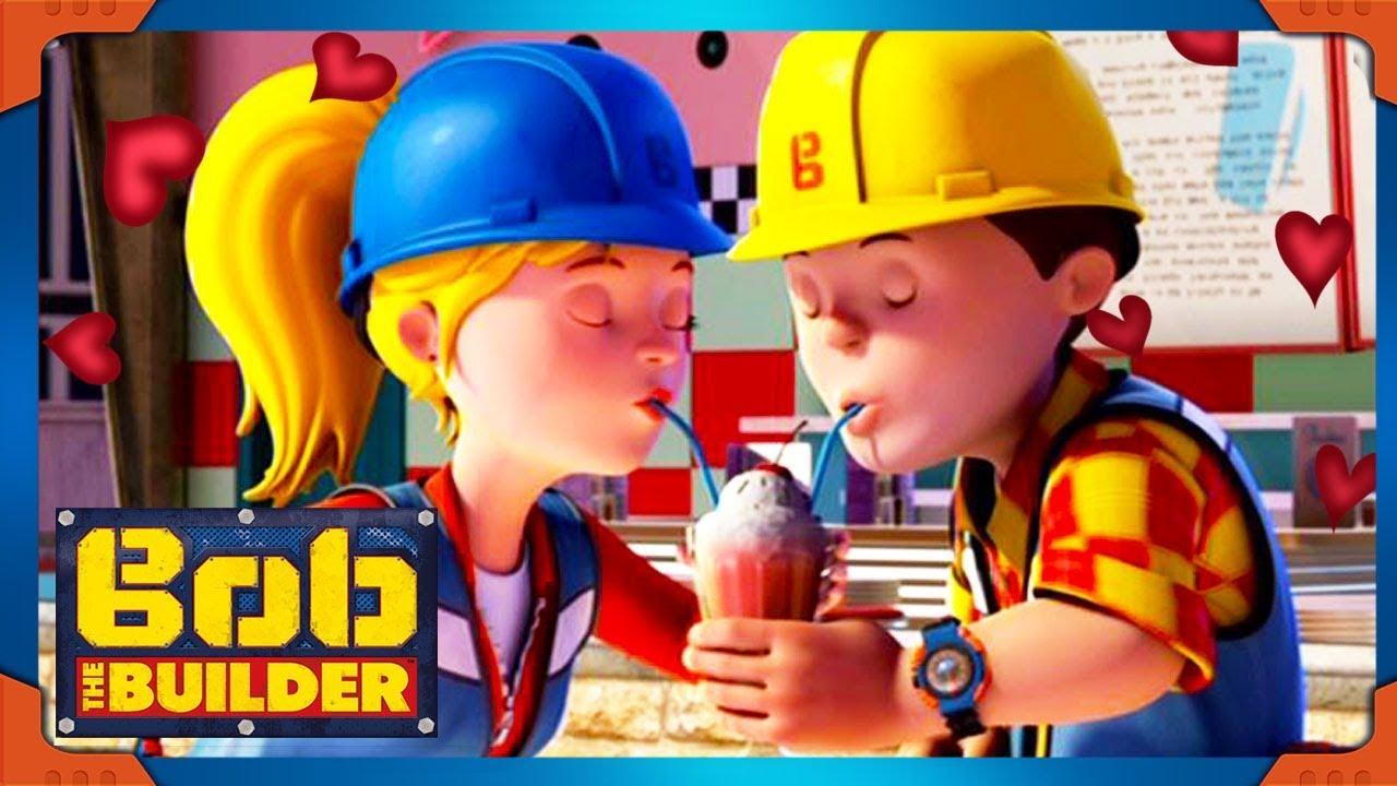 Bob The Builder Special Valentine S Day A Milkshake Together