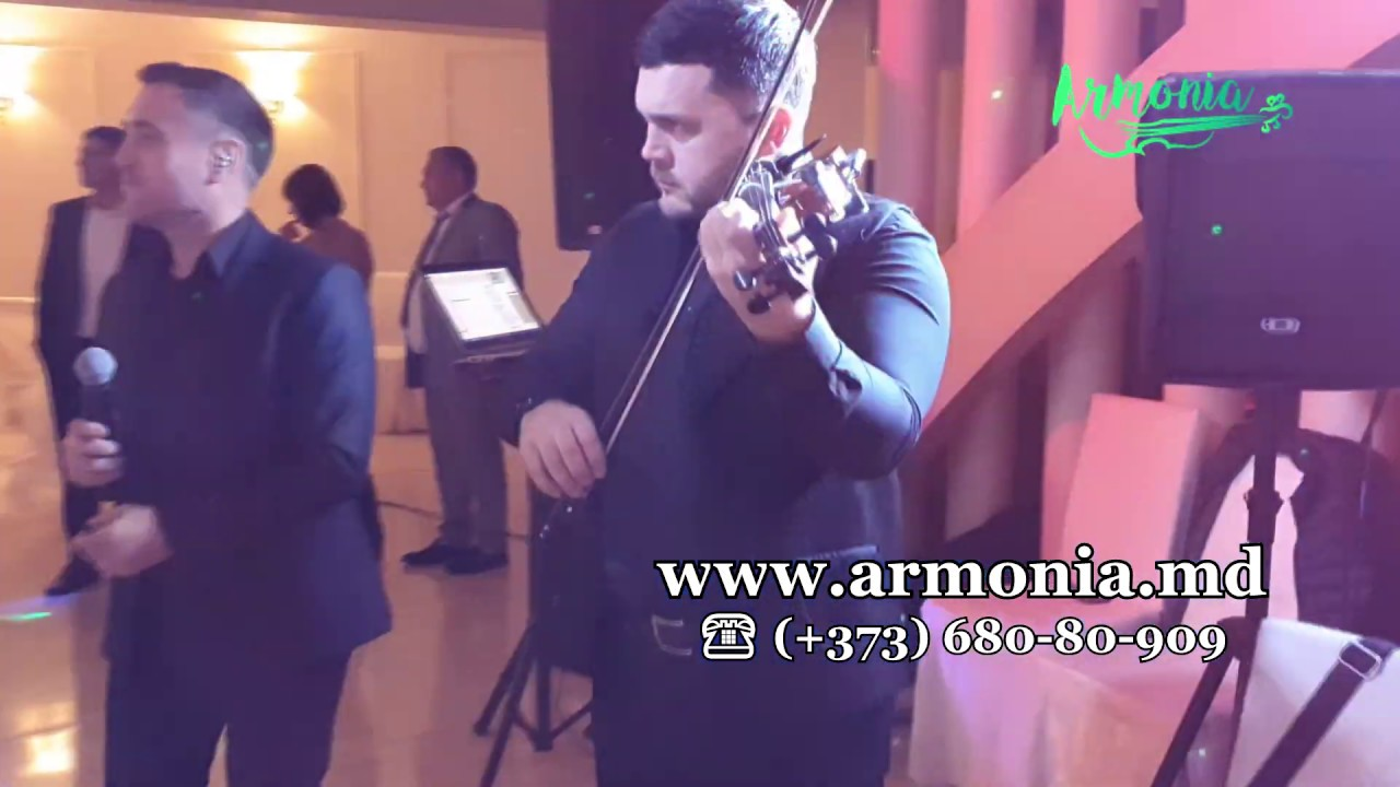 Muzica de petrece   Muzica moldoveneasca  la nunta cu Formatia Armonia Chisinau   Moldova