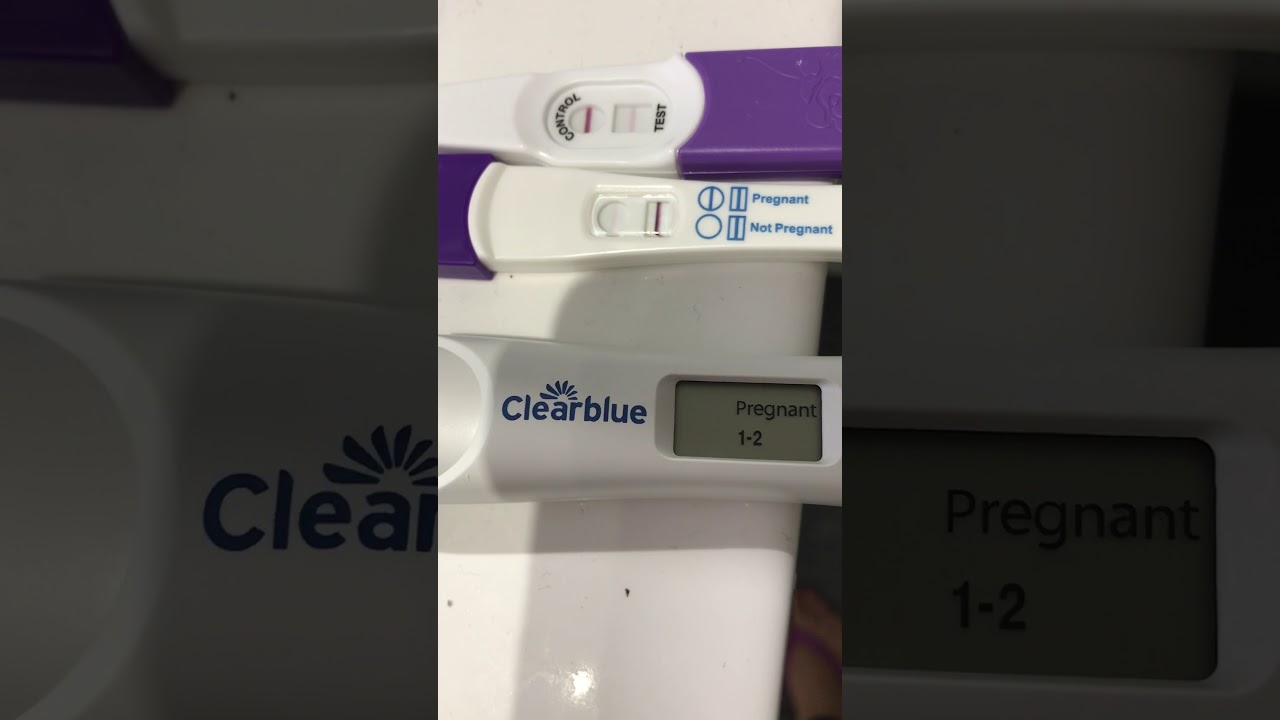 16 DPO - Clearblue, Pregnosis & Confirm pregnancy test kits - YouTube