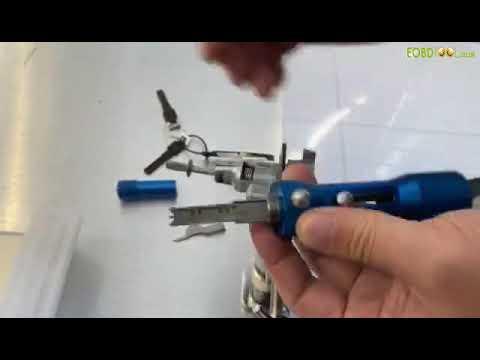 Tutorial  How To Use New Type HU66 Lock Pick Tool