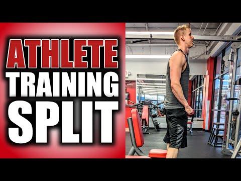 The Best Training Split For Athletes | Strength Training Split