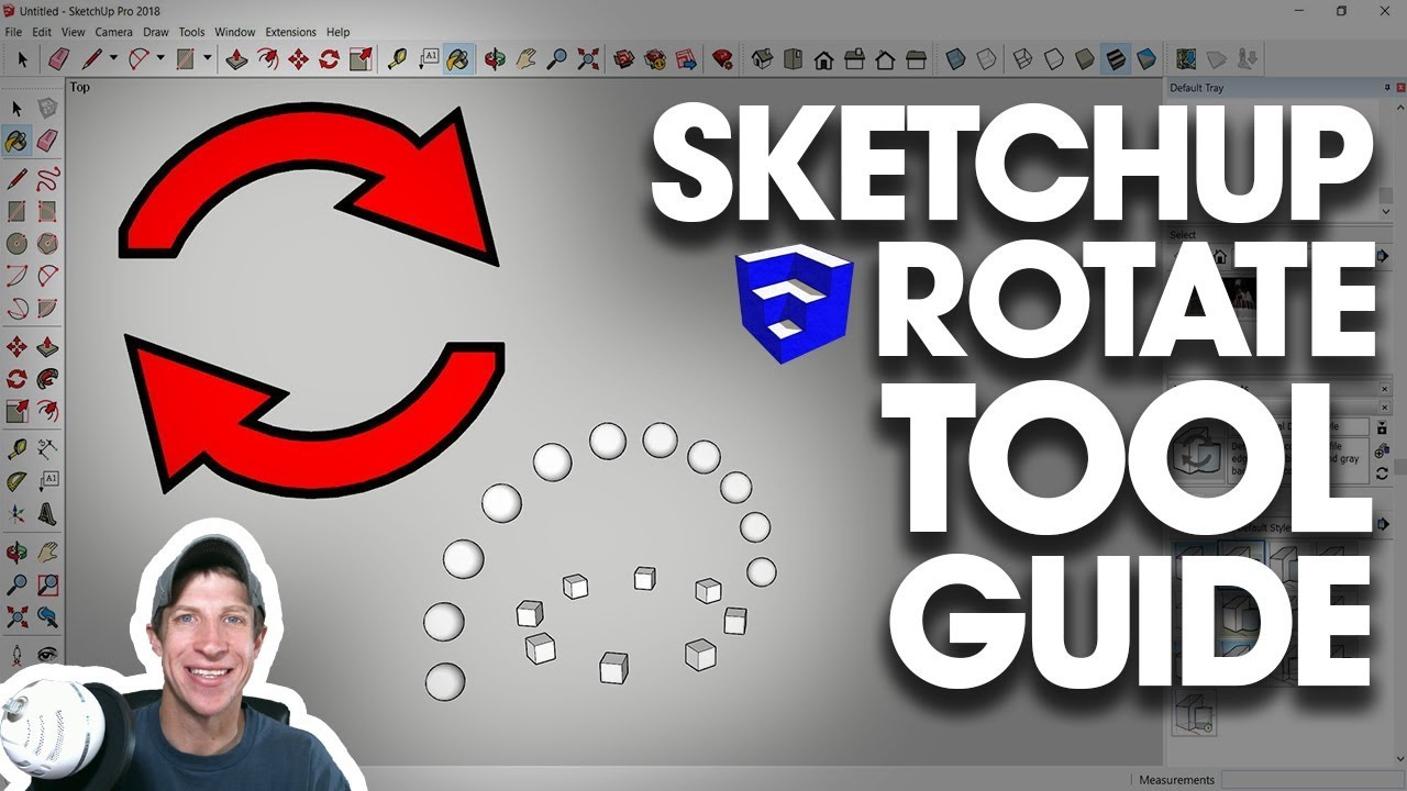 The Ultimate Guide to the SketchUp Rotate Tool