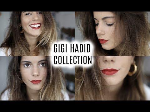 Mi look con la colección de GIGI HADID X MAYBELLINE! + SORTEO #ad