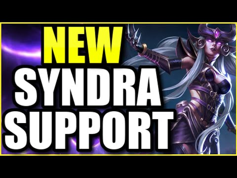 SYNDRA IS THE *NEW* BROKEN SUPPORT IN SEASON 11 WITH THE NEW ITEMS!  INSANE POKE AND GODLY DAMAGE!