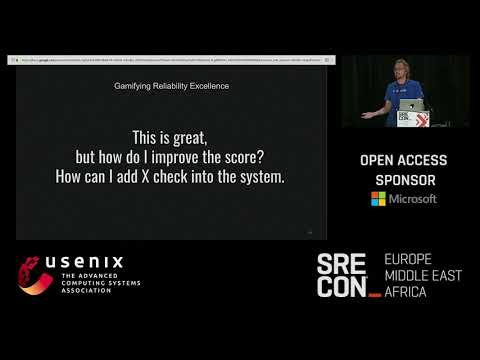 SREcon17 Europe/Middle East/Africa - Gamifying Reliability Excellence—The Service Score Card