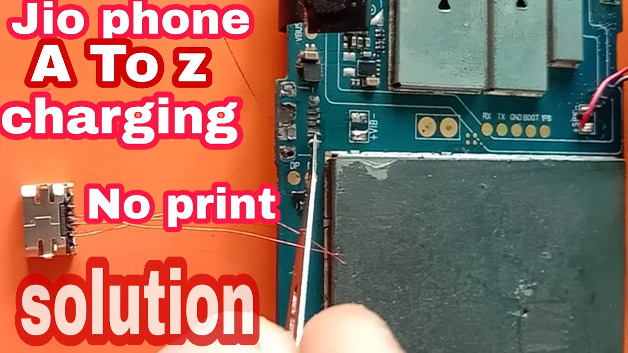 Jio phone all charging print out// not show charging jio phone no print  charging jumper