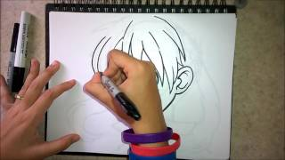 How to draw Maka