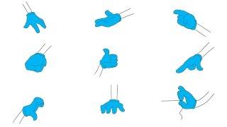 Рисуем мультяшную кисть, руку, пальцы, как нарисовать комикс, аниме, мультик(Обучающее видео для начинающих. Рисуем мультяшную руку. Заходите в плейлисть, там все видео подряд., 2014-11-25T09:29:44.000Z)