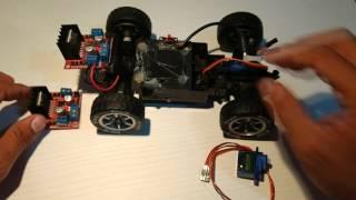 """Arduino + Ps2 : Carrinho de controle remoto """"TUTORIAL"""""""