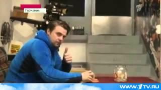 Фантастический трюк с мячиком для настольного тенниса выполнил молодой человек из Германии   Первый