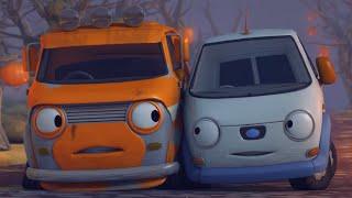 Олли Веселый грузовичок - Мультфильм про машинки - Серия 10 - Темный переулок (Full HD)