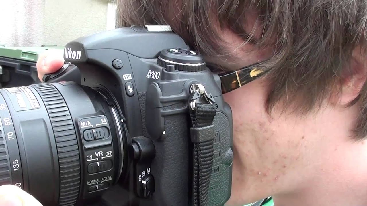 Nikon D300 shooting test - YouTube