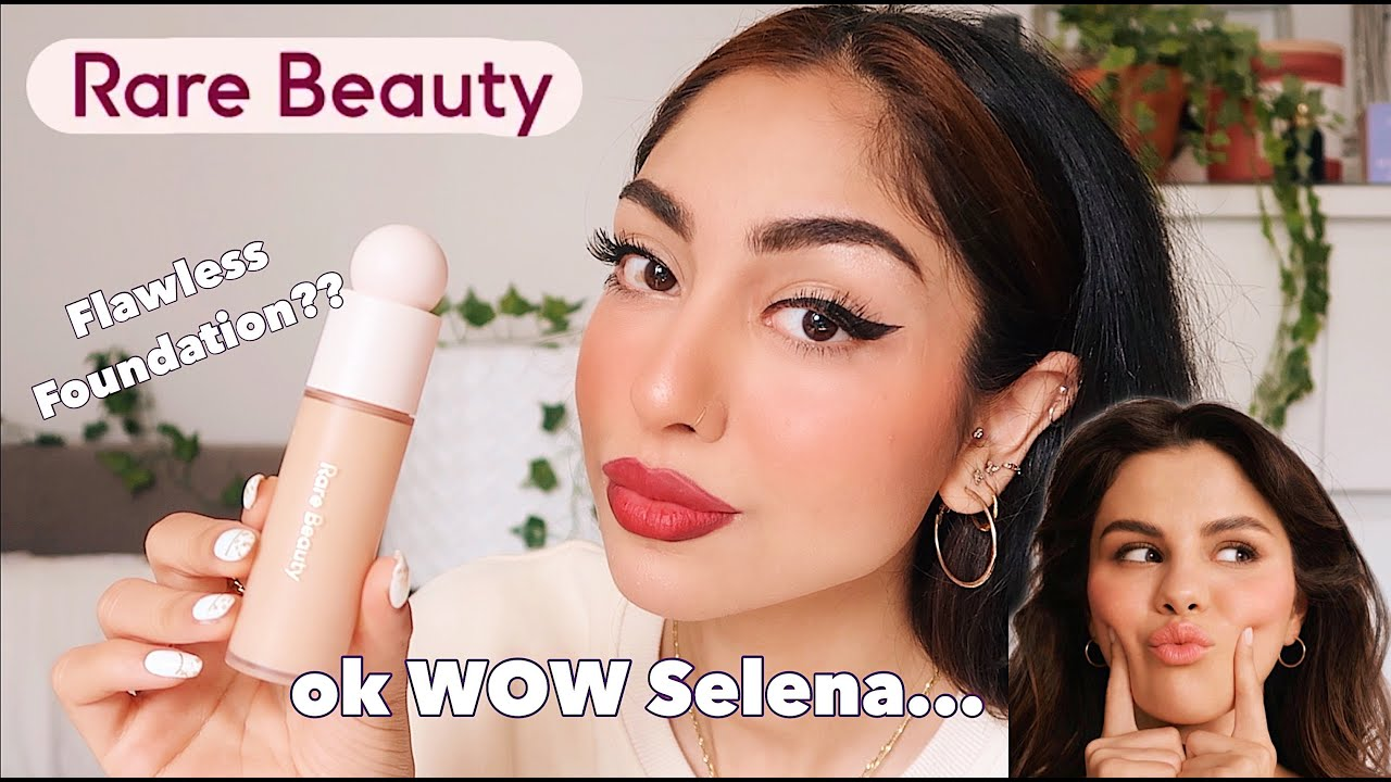 RARE BEAUTY by Selena Gomez Full Face First Impressions **NATURAL LIGHT** ...I was shocked