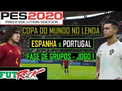 PES 2020 - COPA DO MUNDO NO LENDA COM A ESPANHA - ESTREIA ÉPICA CONTRA PORTUGAL - 동영상