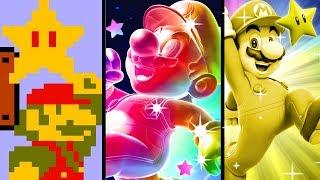 Super Mario Evolution of the SUPER STAR 1985-2015 (NES to Wii U)