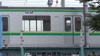 2015/07/02 東京メトロ千代田線16000系16117F 綾瀬車両基地構内試運転