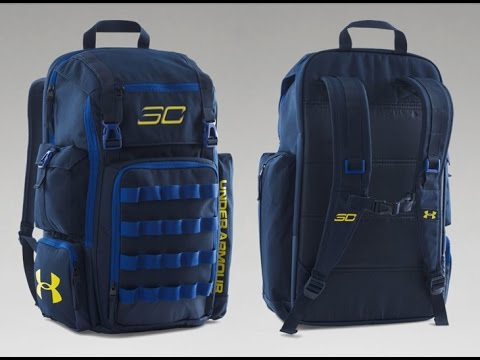 c84698c2fcb4 UA SC30 Backpack Unboxing (Dub Nation) - YouTube