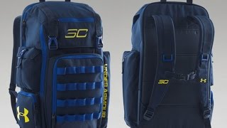 be7c0302a7 UA SC30 Backpack Unboxing (Dub Nation)