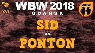 bitwa SID vs PONTON # WBW 2018 Gdańsk (baraż) # freestyle battle