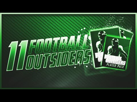 11 Football Outsider Player Packs! THOMAS RAWLS on the LINE!