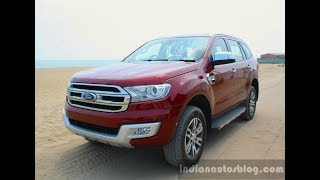 Ford Endeavour 2.2L now available with an electric sunroof