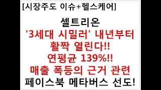 [시장주도 이슈+헬스케어]셀트리온'3세대 시밀러' 내년…