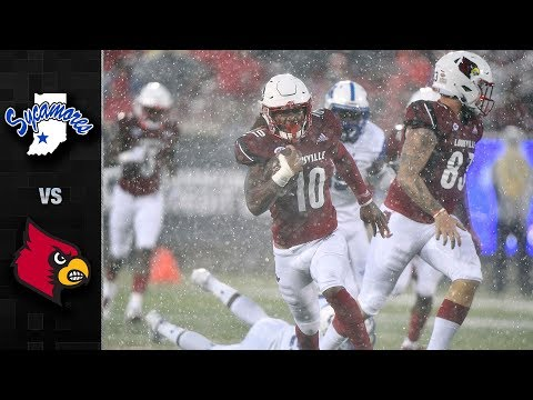 Indiana State vs. Louisville Football Highlights (2018)
