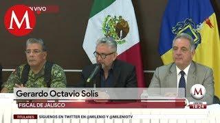 Informe de la fiscalía tras balacera en Tlajomulco
