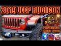 2019 Jeep Rubicon Kinney's Trailboss Performance Exhaust w/ matte finish tips.