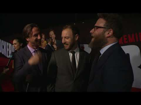 Blockers: Seth Rogen, Evan Goldberg & James Weaver Red Carpet Interview