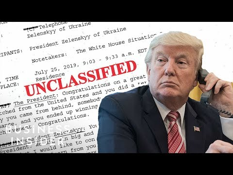 The Phone Call Memo Between Trump And Ukraine (Full Reading)