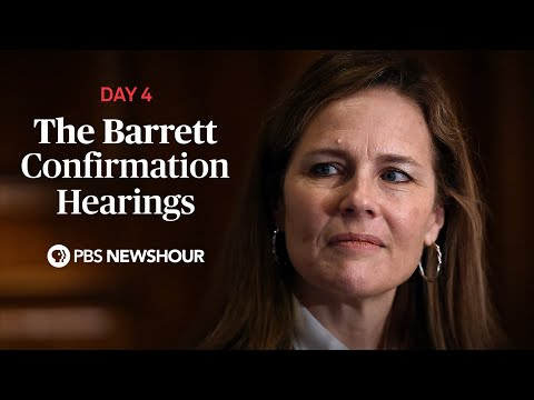 WATCH LIVE: Judge Amy Coney Barrett Supreme Court confirmation hearings - Day 4