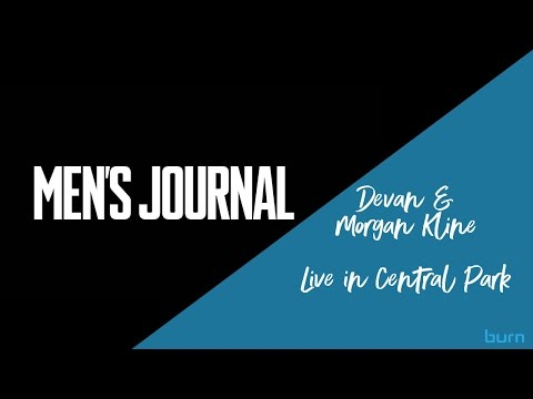 Devan & Morgan Kline LIVE in Central Park - Men's Journal