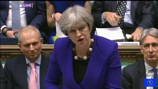 PMQs 17/1/18 Corbyn vs May: Carillion up the Khyber
