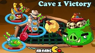 Angry Birds Epic - VICTORY Cave 1 With Porky Prince Part 35 - Angry Birds