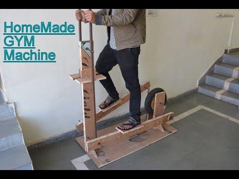 How to Make Wooden Elliptical Cross Trainer - GYM Machine