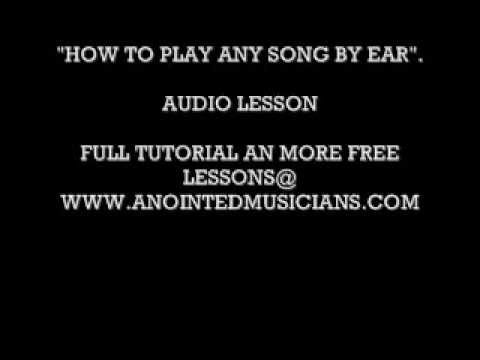 Learn How To Play Gospel Music By Ear Gospel Piano Chord