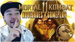 ¡¡MORTAL KOMBAT 11!! NOVEDADES y GAMEPLAY