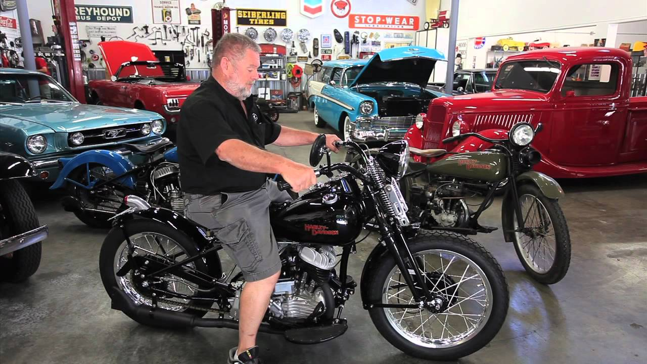 1942 HARLEY-DAVIDSON FLATHEAD 45 Not For Sale Drager's International  Clasiccs Sales 206-533-9600