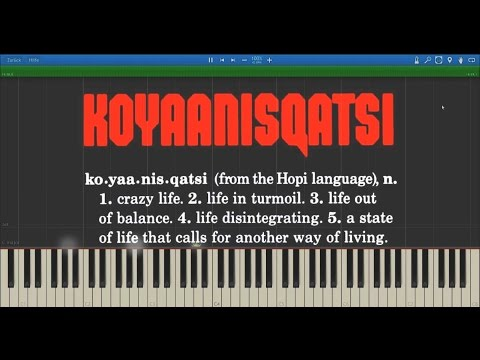 Koyaanisqatsi - Philip Glass | (Complete Soundtrack) Synthesia