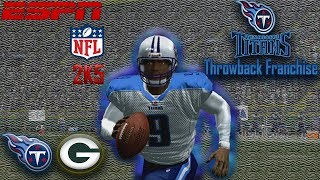 Monday Night Dog Fight | ESPN NFL 2K5 Titans Franchise Y1G5 @ Packers