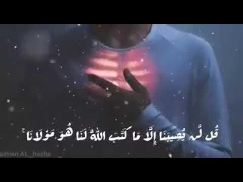 قل لن يصيبنا الا ما كتب الله لنا هو مولانا Youtube