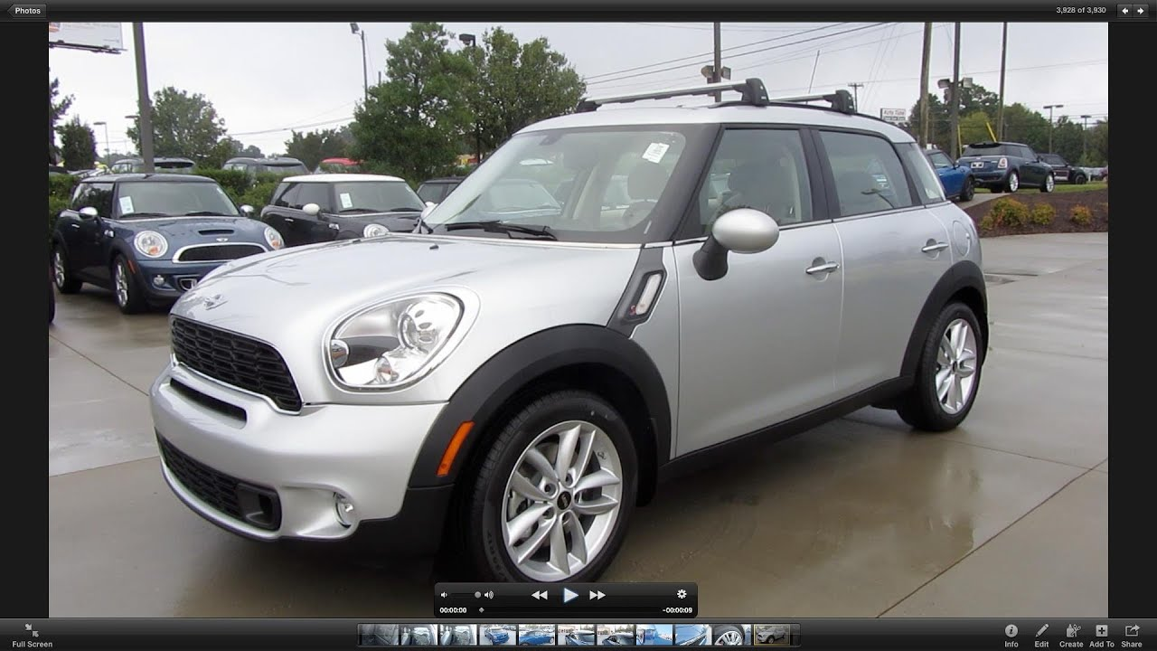 2012 mini cooper countryman s start up exhaust and in depth tour. Black Bedroom Furniture Sets. Home Design Ideas