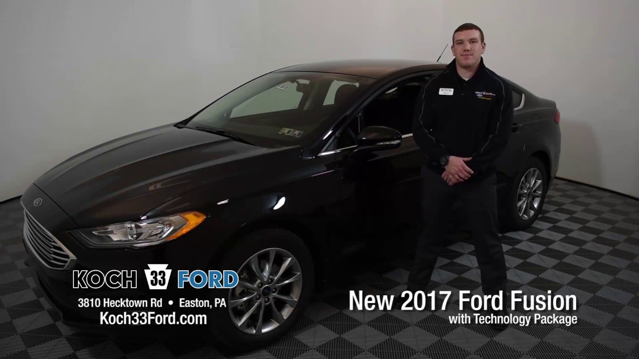 Koch 33 Ford 2017 Fusion Tech Package
