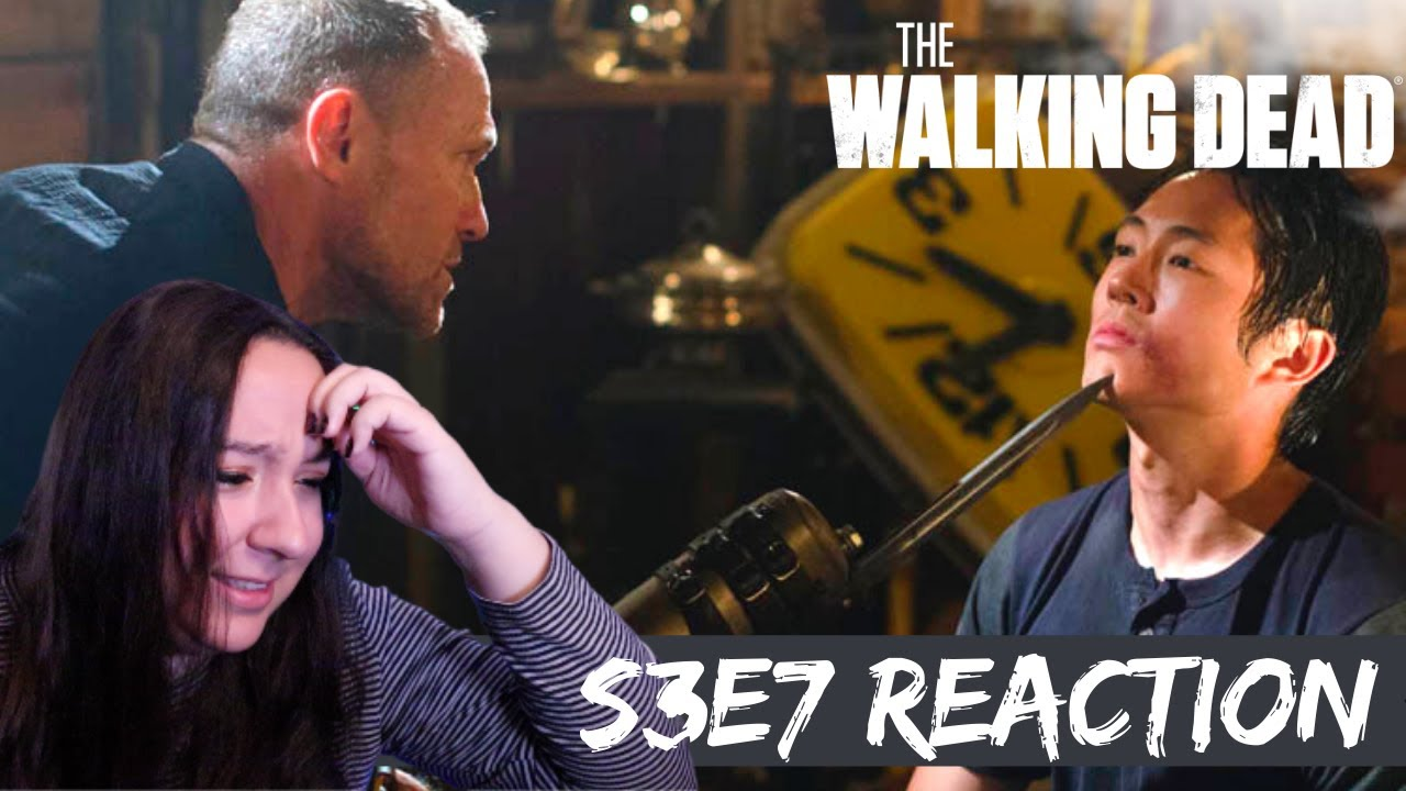 Download REACTION to The Walking Dead Season 3 Episode 7 (307) | He makes me so MAD!