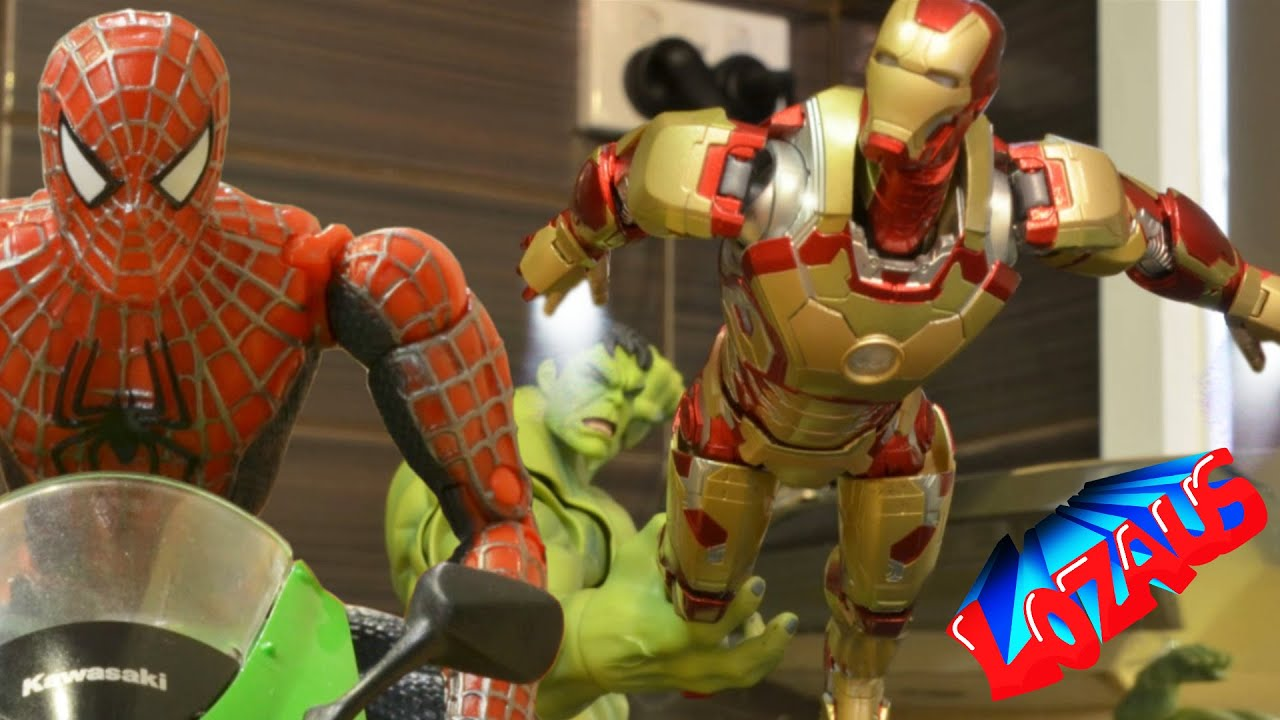 ironman stop motion action video part 3 trailer youtube