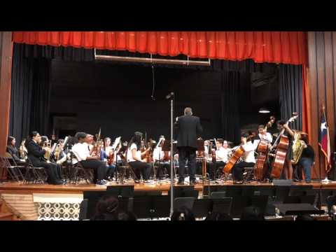Finlandia(1899) Perform by Stovall Middle School and Drew Orchestra (Honors Band)