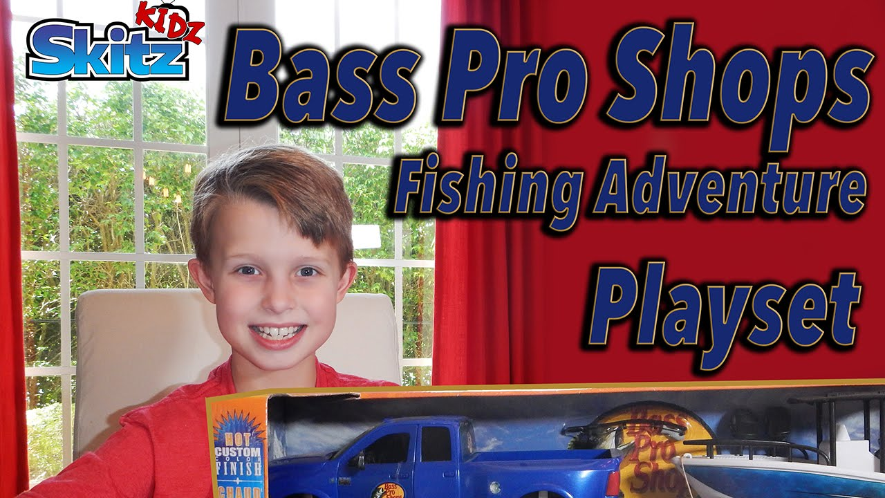 bass pro shops fishing adventure play set youtube. Black Bedroom Furniture Sets. Home Design Ideas