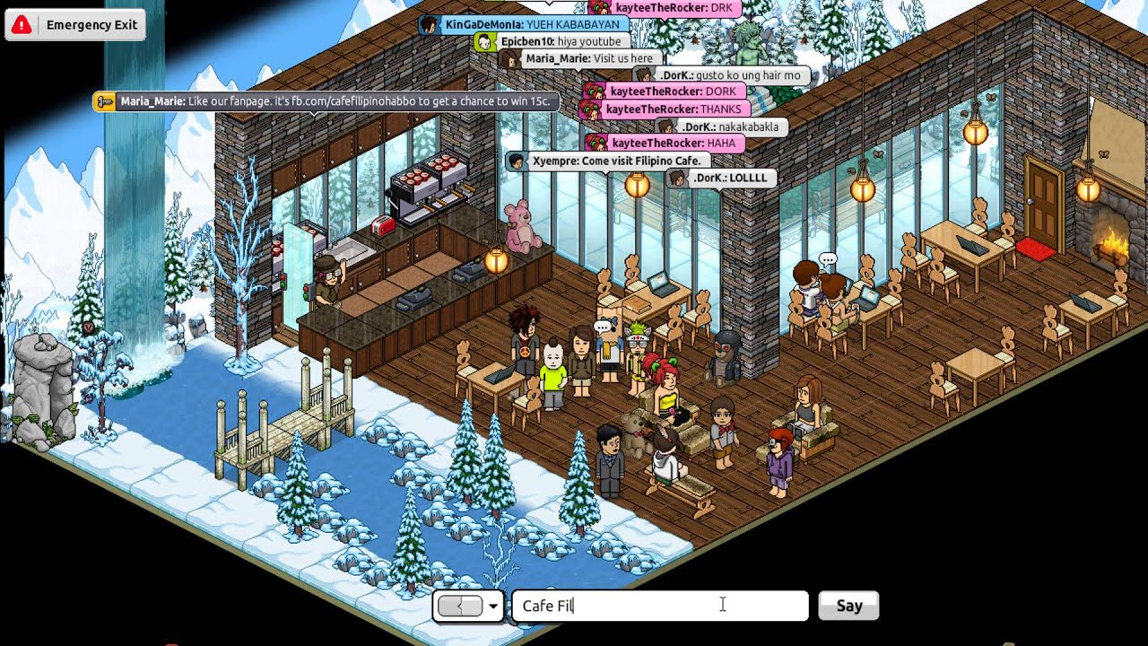 Youtube Habbo Cafe - 30th of June - YouTube